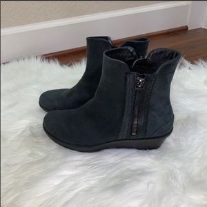 Ecco Black Booties Size 37 Euro US Size 7